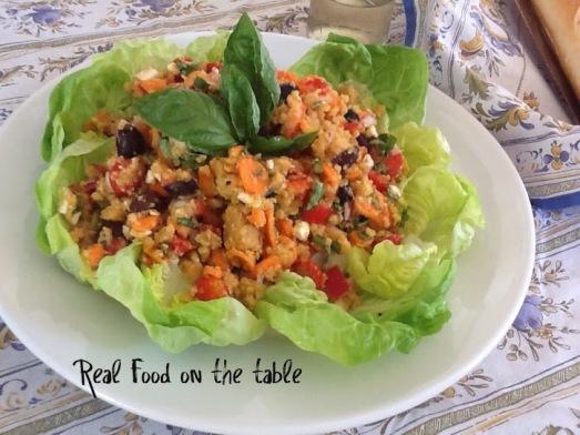 lentil platter