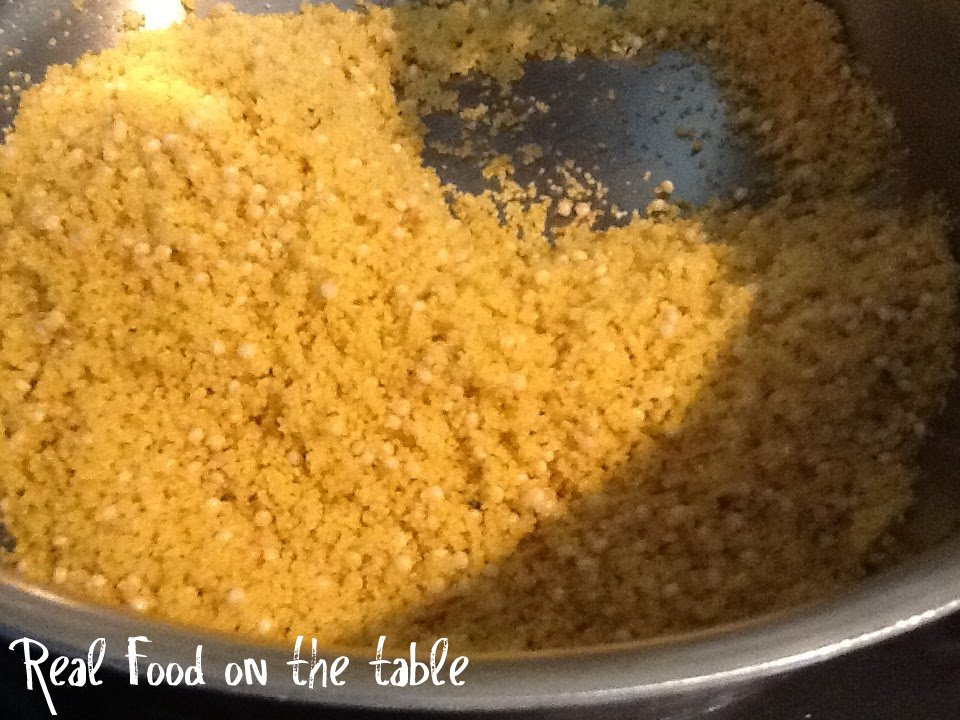 Vacation & the Elimination of Excess – Curried Couscous ...