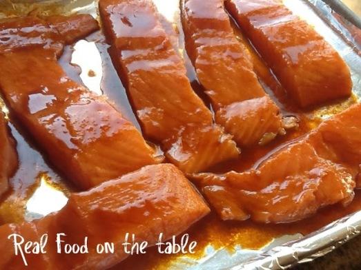 salmon glaze