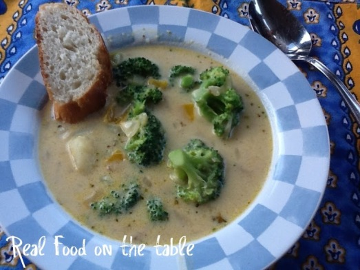 Broccoli soup - final