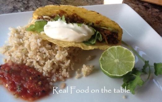 Lentil tacos - 9