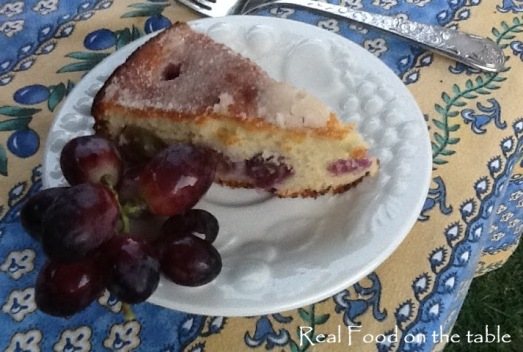 Moscato Cake with Grapes - 6