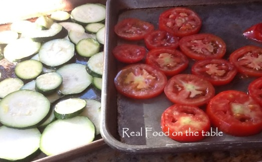 Zucchini rice gratin - 1