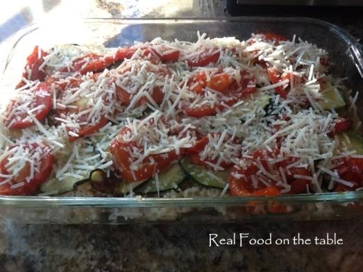 Zucchini rice gratin - 7
